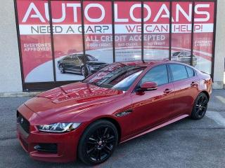 Used 2017 Jaguar XE R-Sport-ALL CREDIT ACCEPTED for sale in Toronto, ON