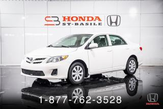 Used 2013 Toyota Corolla CE + AUTO + A/C + CRUISE + WOW! for sale in St-Basile-le-Grand, QC