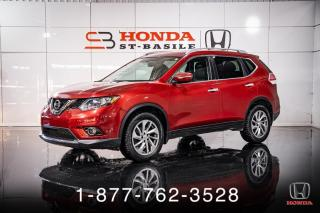Used 2014 Nissan Rogue SL + AWD + CUIR + TOIT + MAGS + WOW! for sale in St-Basile-le-Grand, QC