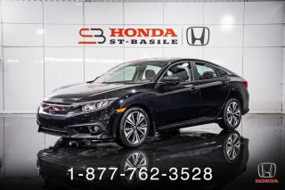 Used 2017 Honda Civic EX-T + AUTO + TOIT + A/C + MAGS + WOW! for sale in St-Basile-le-Grand, QC