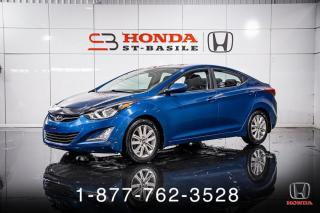 Used 2016 Hyundai Elantra SPORT + AUTO + TOIT + A/C + MAGS + WOW! for sale in St-Basile-le-Grand, QC