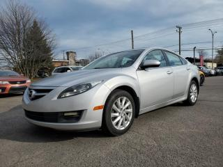 Used 2013 Mazda MAZDA6 GS  *TOIT*BLUETOOTH* 32$/SEM for sale in St-Jérôme, QC