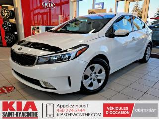 Used 2017 Kia Forte LX+ * CAMÉRA DE RECUL / SIÈGES CHAUFFANT for sale in St-Hyacinthe, QC