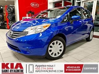 Used 2016 Nissan Versa Note SV ** CAMÉRA DE RECUL + A/C for sale in St-Hyacinthe, QC