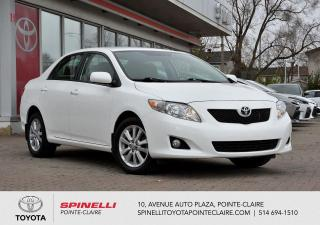 Used 2009 Toyota Corolla LE for sale in Pointe-Claire, QC