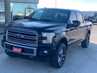 Used 2017 Ford F-150 Limited  for sale in Tilbury, ON
