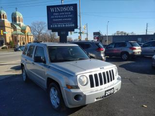 Used 2010 Jeep Patriot north for sale in Windsor, ON