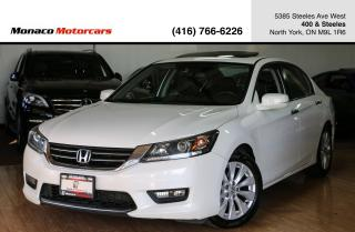 Used 2015 Honda Accord EX-L - SUNROOF|BACKUP|LEATHER|LDW|FCW for sale in North York, ON