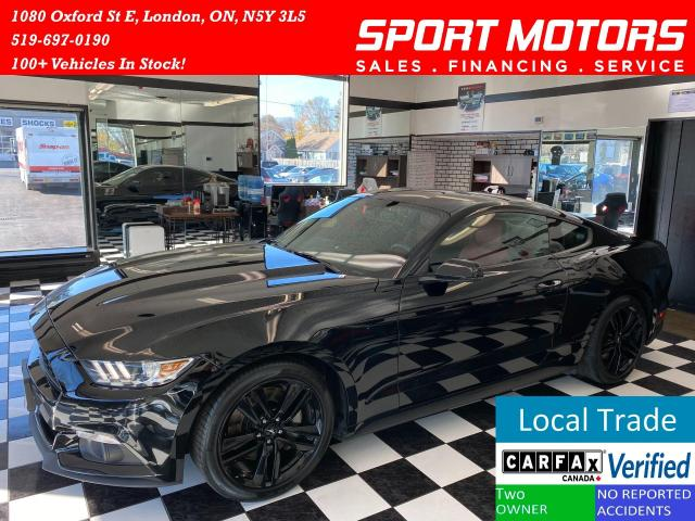 2016 Ford Mustang EcoBoost Premium+Red Leather+Accident Free