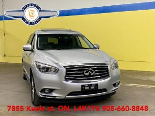 Used 2014 Infiniti QX60 Navi, Leather, Roof 2 Years Warranty for sale in Vaughan, ON