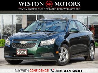 Used 2014 Chevrolet Cruze LT*LEATHER*REVERSE CAMERA*HEATED SEATS*BLUETOOTH for sale in Toronto, ON