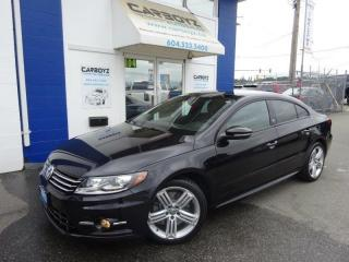 Used 2017 Volkswagen Passat CC Wolfsburg Edition VR6 4Motion w/ R-Line Pkg!! for sale in Langley, BC
