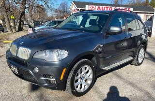 Used 2012 BMW X5 Diesel/Panoramic Sunroof/360 Camra/Bluetooth for sale in Scarborough, ON