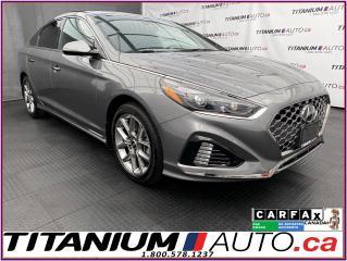 Used 2018 Hyundai Sonata Ultimate+2.0T+GPS+Pano Roof+Cooled Leather Seats for sale in London, ON