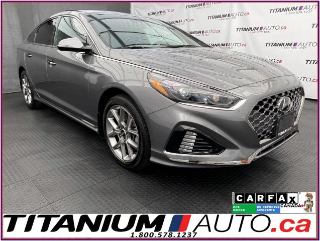 2018 Hyundai Sonata Ultimate+2.0T+GPS+Pano Roof+Cooled Leather Seats