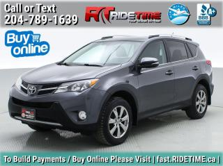 Used 2014 Toyota RAV4 LIMITED  for sale in Winnipeg, MB