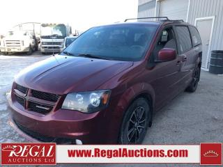 Used 2017 Dodge Grand Caravan GT 4D Wagon 3.6L for sale in Calgary, AB