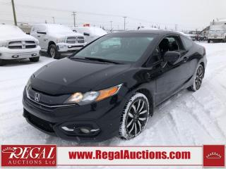 Used 2015 Honda Civic EX-L 2D Coupe AT 1.8L for sale in Calgary, AB