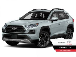 New 2021 Toyota RAV4 Trail  Two Tone Paint for sale in Winnipeg, MB