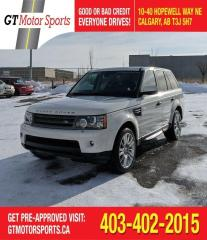 Used 2010 Land Rover Range Rover Sport LUX   $0 DOWN - EVERYONE APPROVED! for sale in Calgary, AB