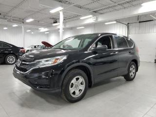Used 2016 Honda CR-V LX - CAMERA + FINANCEMENT FACILE !!! for sale in Saint-Eustache, QC
