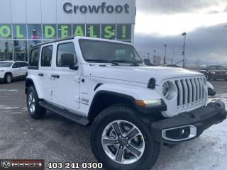 New 2021 Jeep Wrangler Unlimited Sahara for sale in Calgary, AB