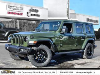 New 2021 Jeep Wrangler UNLIMITED SAHARA ALTITUDE | DUAL TOP | NAVI for sale in Simcoe, ON