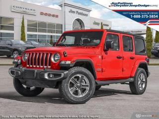 New 2021 Jeep Wrangler Unlimited Unlimited Sahara for sale in Surrey, BC