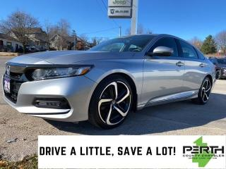 Used 2018 Honda Accord Sport | Leather | Sunroof | Back-Up Camera | for sale in Mitchell, ON