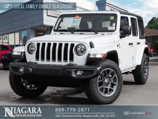 New 2021 Jeep Wrangler Unlimited Unlimited Sport 80th Anniversary for sale in Niagara Falls, ON