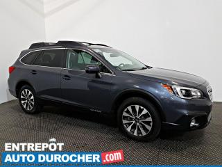 Used 2016 Subaru Outback 3.6R Limited AWD NAVIGATION - Toit Ouvrant - A/C for sale in Laval, QC