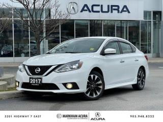 Used 2017 Nissan Sentra SR Turbo CVT for sale in Markham, ON