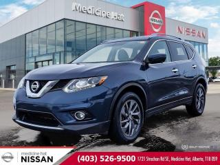Used 2016 Nissan Rogue SL for sale in Medicine Hat, AB