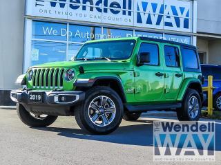 Used 2019 Jeep Wrangler Unlimited Sahara Nav/Safety Pkg for sale in Kitchener, ON