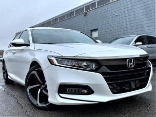 Used 2018 Honda Accord Sedan SPORTS |PUSH START|HEATED SEATS|SUNROOF|APPLE CARPLAY! for sale in Brampton, ON