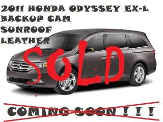 Used 2011 Honda Odyssey SOLD! SOLD! SOLD! 4dr Wgn EX-L w/RES for sale in Toronto, ON