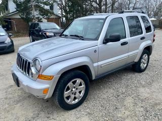 Used 2005 Jeep Liberty 4dr Limited 4WD, low km's, no accidents for sale in Halton Hills, ON