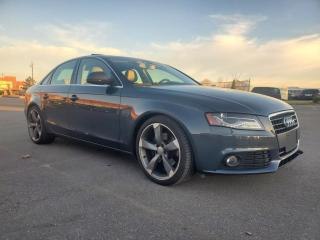 Used 2009 Audi A4 4dr Sdn 2.0T quattro*PREMMIUM PLUS *TOP OF THE LINE for sale in Scarborough, ON