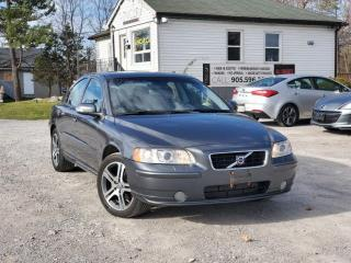 Used 2007 Volvo S60 No Accidents 2.5T Sunroof Leather Power Heated Seats Cruise for sale in Sutton, ON