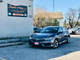 Used 2016 Honda Civic Sedan 4dr CVT LX for sale in Barrie, ON