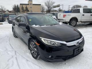 Used 2016 Honda Civic Sedan 4dr CVT EX for sale in Winnipeg, MB