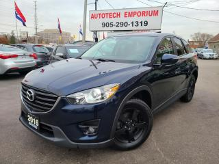 Used 2016 Mazda CX-5 GT w/LUXURY Leather/Sunroof/Heated Seats&GPS* for sale in Mississauga, ON