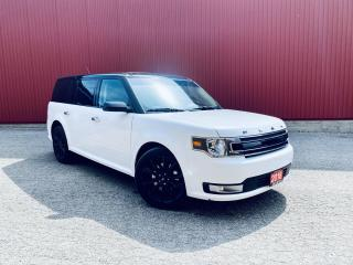 Used 2018 Ford Flex SEL,  7-PASS, AWD, LEATHER, NAVI, ROOF, B-CAM, PWR TAILGATE for sale in Scarborough, ON
