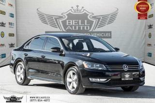 Used 2015 Volkswagen Passat Comfortline, NO ACCIDENTS, REAR CAM, LEATHER, SUNROOF. for sale in Toronto, ON