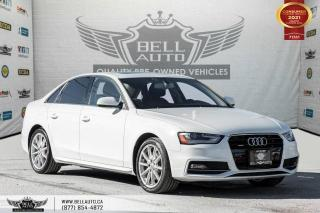 Used 2016 Audi A4 Progressiv plus, AWD, NAVI, REAR CAM, SENSORS, P ASSIST. for sale in Toronto, ON