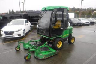 Used 2011 John Deere 1545 Series 2  4WD Diesel Lawn Mower for sale in Burnaby, BC