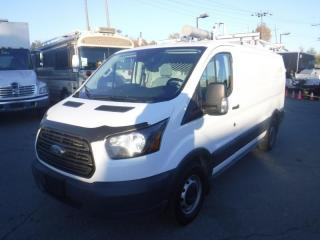 Used 2017 Ford Transit 150 Cargo Van Low Roof 130-in. WB with Rear Shelving and Ladder Rack for sale in Burnaby, BC