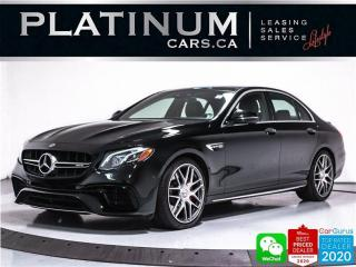Used 2018 Mercedes-Benz E-Class AMG E63 S, 603HP, CARBON, PREMIUM, NAV, HEATED for sale in Toronto, ON