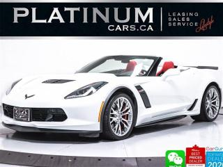 Used 2017 Chevrolet Corvette Z06 650HP, 3LZ, CONVERTIBLE,CERAMIC, HUD, NAV, CAM for sale in Toronto, ON