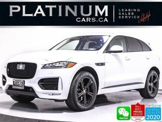 Used 2018 Jaguar F-PACE 35t R-Sport, 340HP, NAV, AWD, CAM, HEATED for sale in Toronto, ON
